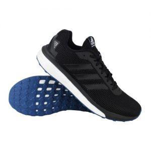 adidas vengeful BOOST hardloopschoenen heren zwart/wit