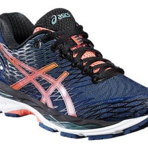 Asics Gel-Nimbus 18 hardloopschoenen dames marine/roze