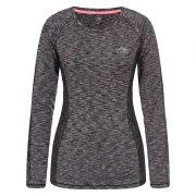 Li-Ning Janelle hardloopsweater dames antraciet