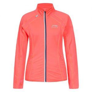 Li-Ning Joan hardloopsweater dames neon roze