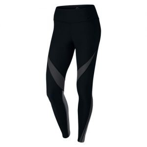 Nike Power Legend Twist tight dames zwart/grijs