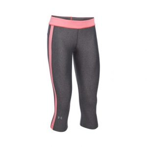 Under Armour HeatGear Sport capri tight dames grijs/roze