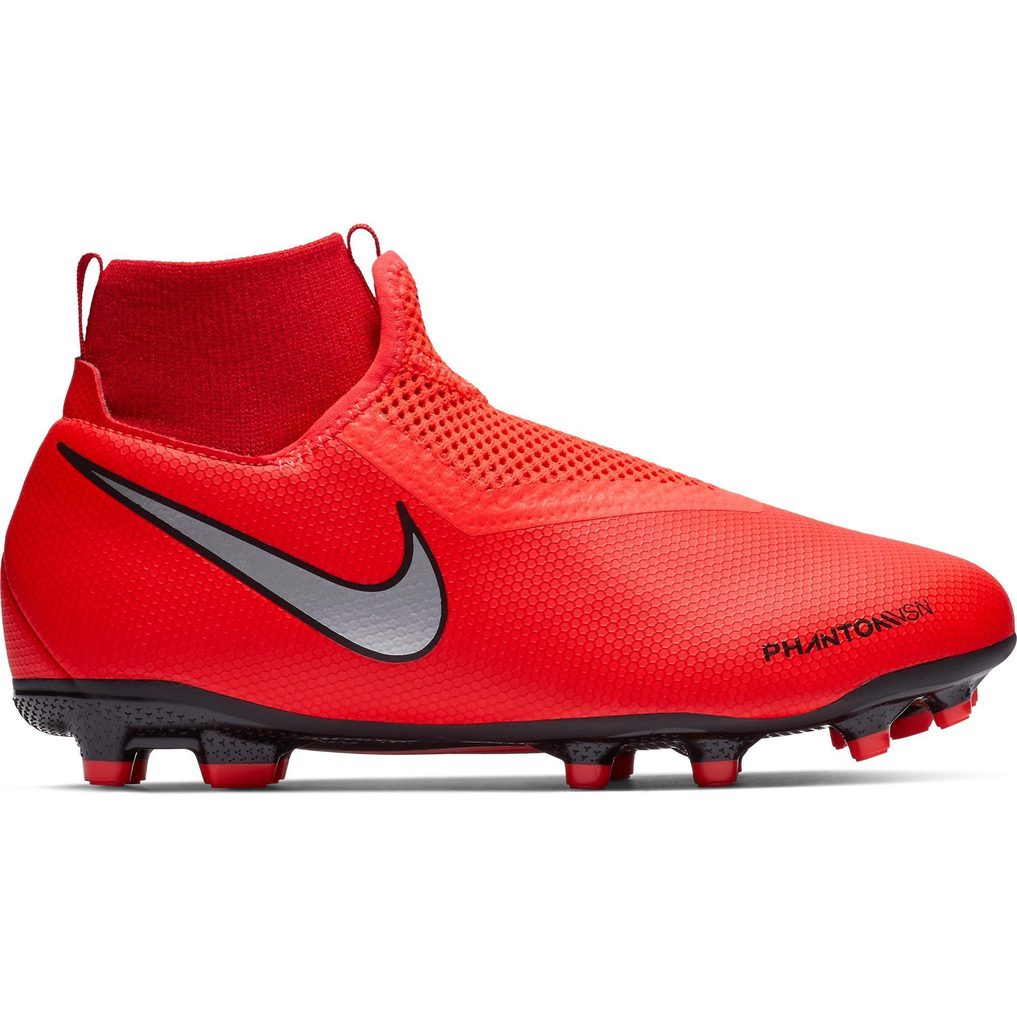 Nike Voetbalschoenen kind Phantom Vision Academy Dynamic Fit MG rood